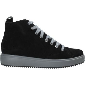 Schoenen Dames Hoge sneakers IgI&CO 6162200 Zwart