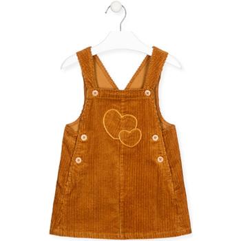 Textiel Meisjes Jumpsuites / Tuinbroeken Losan 026-7024AL Geel