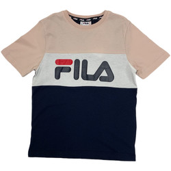 Textiel Kinderen T-shirts korte mouwen Fila 688141 Roze