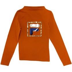Textiel Kinderen T-shirts met lange mouwen Fila 688102 Oranje