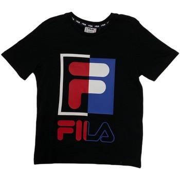 Textiel Kinderen T-shirts korte mouwen Fila 688149 Blauw