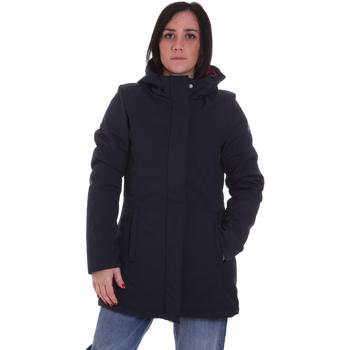 Textiel Dames Parka jassen Lumberjack CW96021 001 404 Blauw