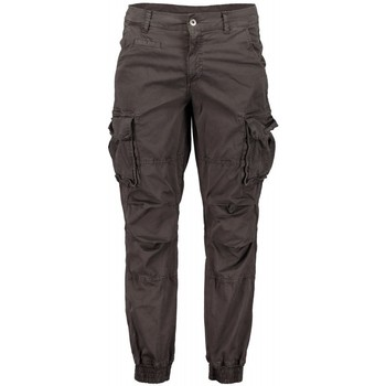Textiel Heren Cargobroek Scout Cargo Heren Blauwe Broek (pnt1389-lead) Grijs
