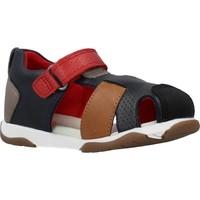 Schoenen Jongens Sandalen / Open schoenen Garvalin 202335 Blauw