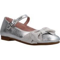 Schoenen Meisjes Ballerina's Garvalin 202604 Zilver