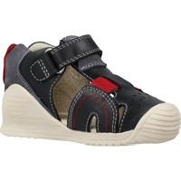 Schoenen Jongens Sandalen / Open schoenen Biomecanics 202142 Blauw