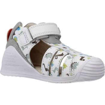 Schoenen Jongens Sandalen / Open schoenen Biomecanics 202152 Wit