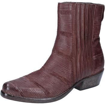 Schoenen Dames Enkellaarzen Moma Bottines BJ206 Marron