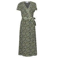 Textiel Dames Lange jurken Betty London OMADAM Zwart / Multicolour