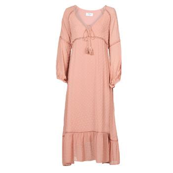 Textiel Dames Lange jurken Betty London OFRI Roze