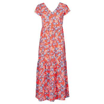 Textiel Dames Lange jurken Betty London ODE Rood / Multicolour