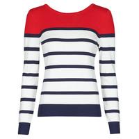 Textiel Dames Truien Betty London ORALI Rood / Ecru