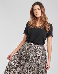 Textiel Dames Tops / Blousjes Moony Mood OTUIDE Zwart