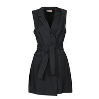 Textiel Dames Korte jurken Moony Mood OLALA Zwart