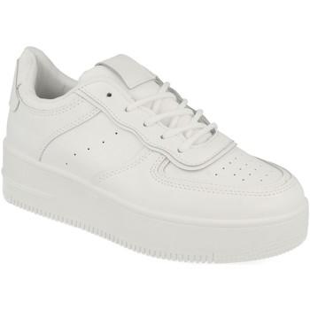 Schoenen Dames Lage sneakers Buonarotti 1CD-1003 Blanco