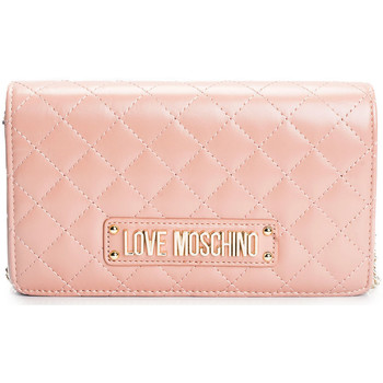 Tassen Dames Schoudertassen met riem Love Moschino  Roze