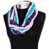 Accessoires Dames Sjaals Buff Col en tricot Multicolour