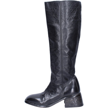 Schoenen Dames Hoge laarzen Moma BJ236 Noir