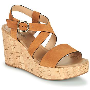 Schoenen Dames Sandalen / Open schoenen NeroGiardini JIPPO Cognac