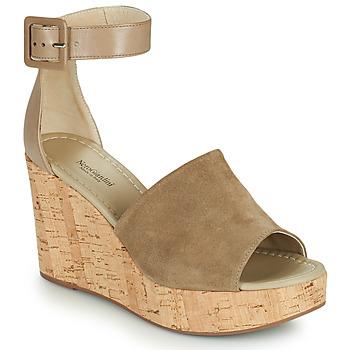 Schoenen Dames Sandalen / Open schoenen NeroGiardini NORWAY Taupe