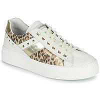 Schoenen Dames Lage sneakers NeroGiardini MANO Wit / Leopard