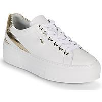 Schoenen Dames Lage sneakers NeroGiardini LAITO Wit / Goud