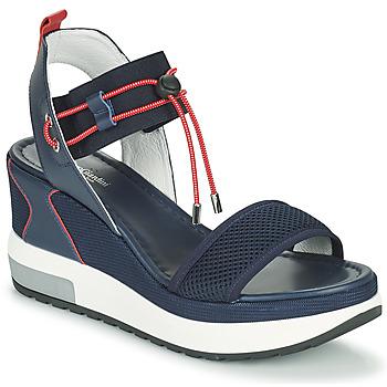 Schoenen Dames Sandalen / Open schoenen NeroGiardini CAMINO Marine / Rood