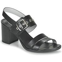 Schoenen Dames Sandalen / Open schoenen NeroGiardini GHILLO Zwart