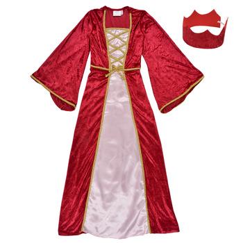 Textiel Meisjes Verkleedkleding Fun Costumes COSTUME ENFANT REINE DE LA RENAISSANCE Multicolour