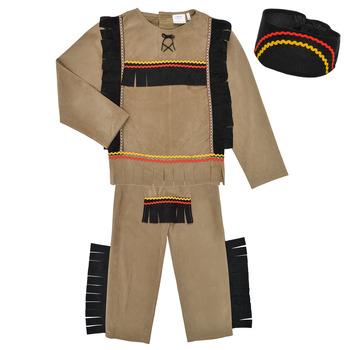 Textiel Jongens Verkleedkleding Fun Costumes COSTUME ENFANT INDIEN BIG BEAR Multicolour