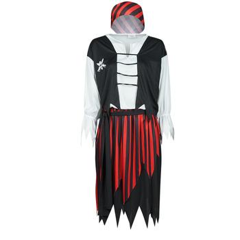 Textiel Dames Verkleedkleding Fun Costumes COSTUME ADULTE PIRATE SUZY Multicolour