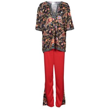 Textiel Dames Verkleedkleding Fun Costumes COSTUME ADULTE FLOWER BEETLE Multicolour