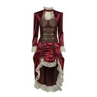 Textiel Dames Verkleedkleding Fun Costumes COSTUME ADULTE LADY STEAMPUNK Multicolour