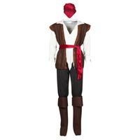 Textiel Heren Verkleedkleding Fun Costumes COSTUME ADULTE PIRATE THUNDER Multicolour