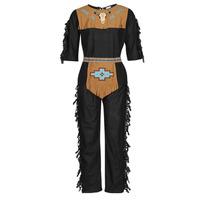 Textiel Heren Verkleedkleding Fun Costumes COSTUME ADULTE INDIEN NOBLE WOLF Multicolour