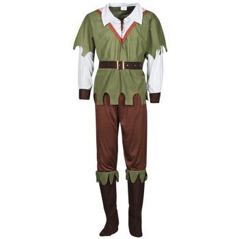 Textiel Heren Verkleedkleding Fun Costumes COSTUME ADULTE FOREST HUNTER Multicolour