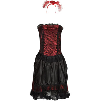 Textiel Dames Verkleedkleding Fun Costumes COSTUME ADULTE SALOON GIRL Multicolour