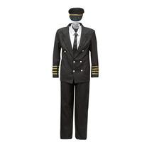 Textiel Heren Verkleedkleding Fun Costumes COSTUME ADULTE PILOTE Multicolour