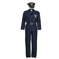 Textiel Heren Verkleedkleding Fun Costumes COSTUME ADULTE OFFICIER DE POLICE Multicolour