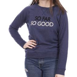 Textiel Dames Sweaters / Sweatshirts Banana Moon  Blauw