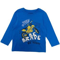 Textiel Jongens T-shirts met lange mouwen Losan 025-1201AL Blauw