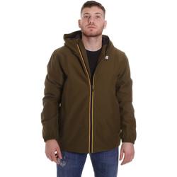 Textiel Heren Wind jackets K-Way K00B0S0 Groen
