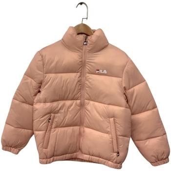 Textiel Kinderen Dons gevoerde jassen Fila 688419 Roze