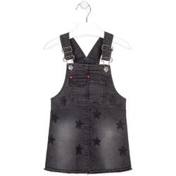 Textiel Meisjes Jumpsuites / Tuinbroeken Losan 026-7032AL Zwart