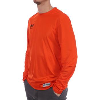 Textiel Heren T-shirts met lange mouwen Hungaria  Orange