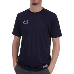 Textiel Heren T-shirts & Polo's Hungaria  Blauw