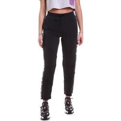 Textiel Dames Broeken / Pantalons Jijil JPI19PA340 Zwart