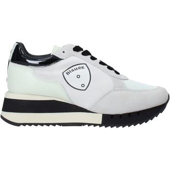 Schoenen Dames Sneakers Blauer F0CHARLOTTE05/NYS Wit