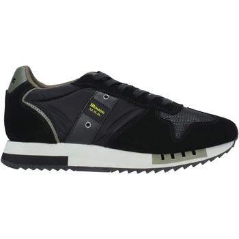Schoenen Heren Sneakers Blauer F0QUEENS01/CAM Zwart