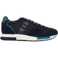 Schoenen Heren Sneakers Blauer F0QUEENS01/CAM Blauw